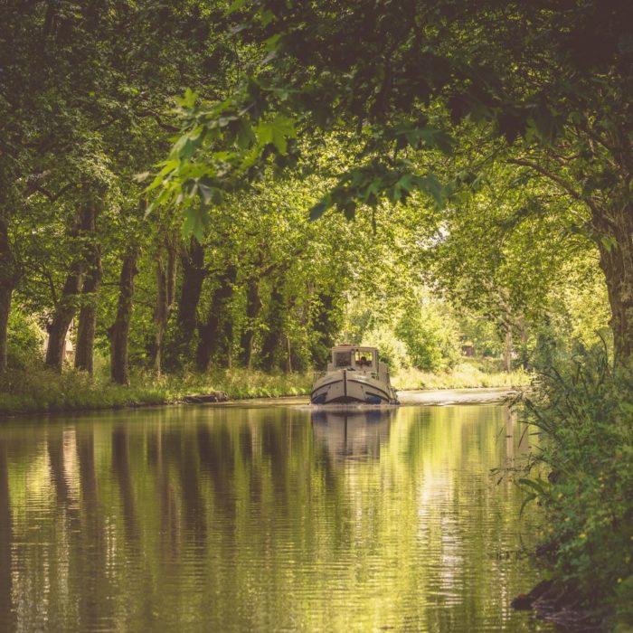 Le Canal du Midi à Carcassonne et sa région