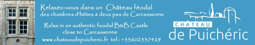 chambre hote canal du midi carcassonne puicheric aude