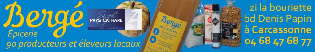 boutique producteurs circuit court carcassonne BERGE