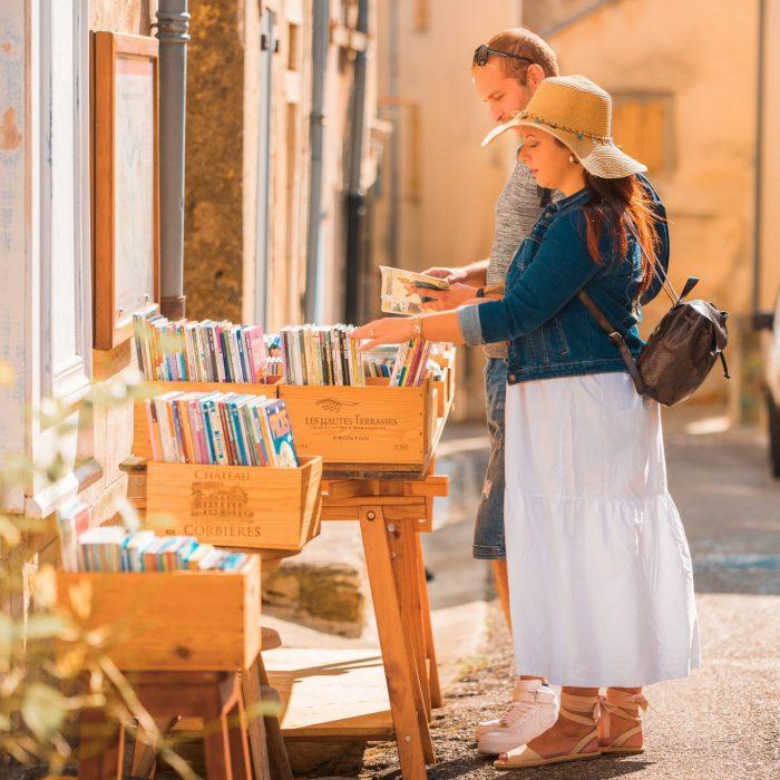 Montolieu- village -du- livre- et -des- arts