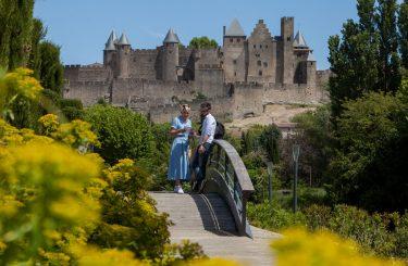 Jardin Bellevue carcassonne - mai