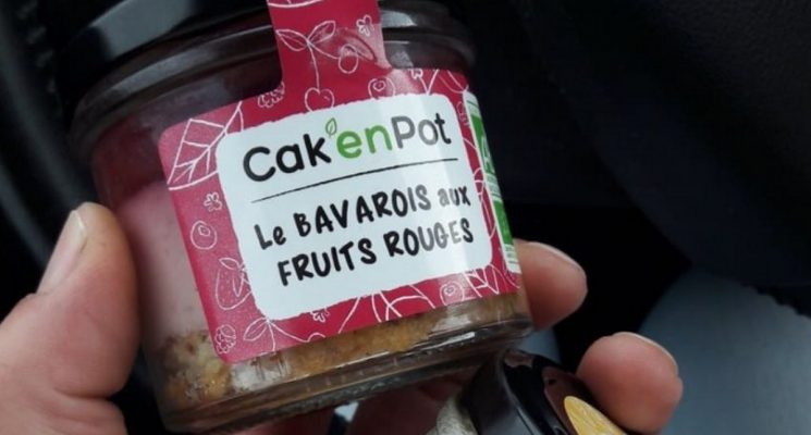 CAKE EN POT BAVAROIS
