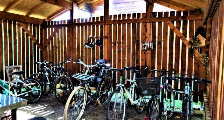 CHALET MELEZE garage vélos