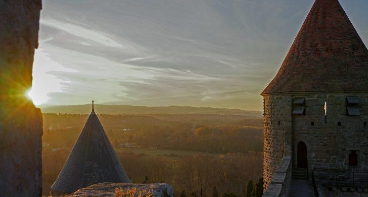Château-remparts-Carcassonne