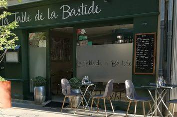 LA TABLE DE LA BASTIDE