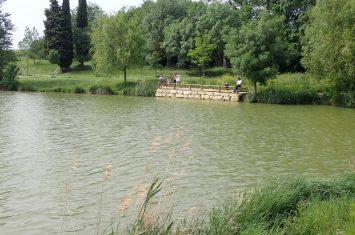Ponton Fontorbe lac 5