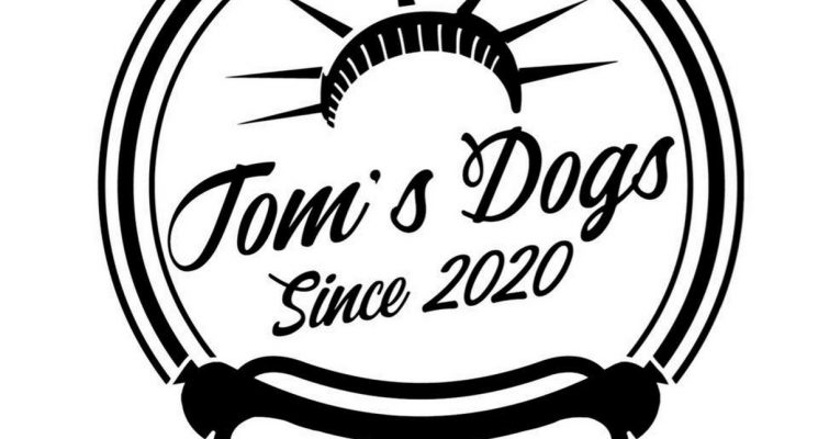 TOM S DOG LOGO